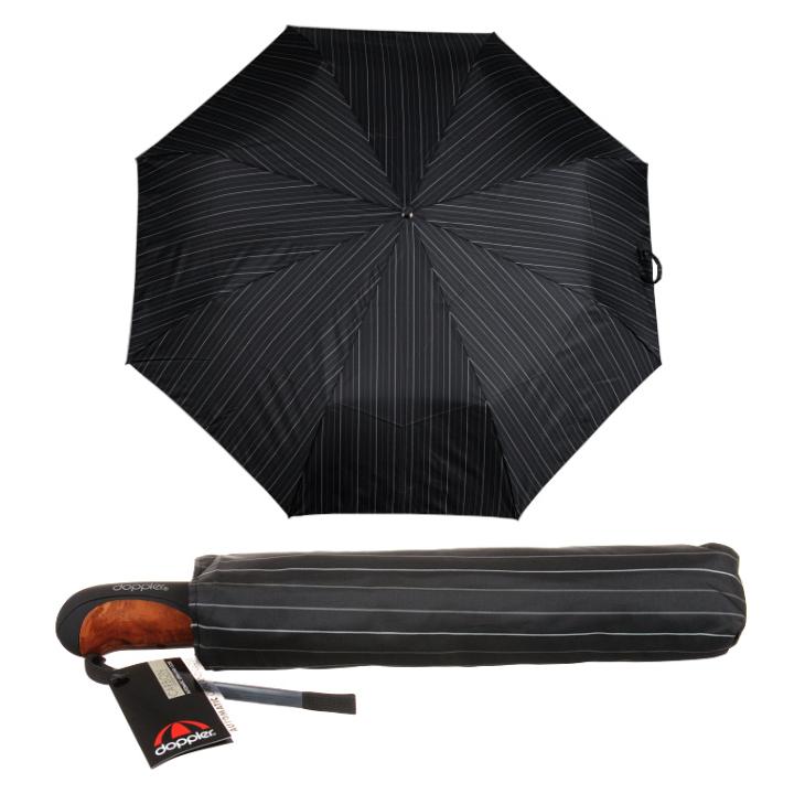 Umbrele de ploaie Doppler Business XM dungi gri